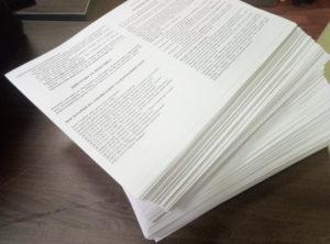 печать инструкций, печать гарантийных талонов